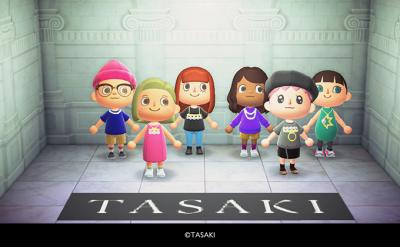 TASAKI、「あつまれ どうぶつの森」オリジナルマイデザインをリリース