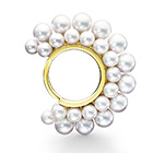 PYRAMID PEARLS Ring