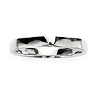 liquid sculpture Marriage Ring (men's)