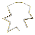 abstract star Necklace