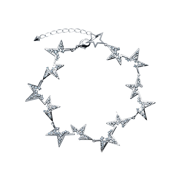 abstract star Bracelet