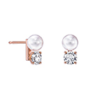 balance neo pearl & diamond Earrings