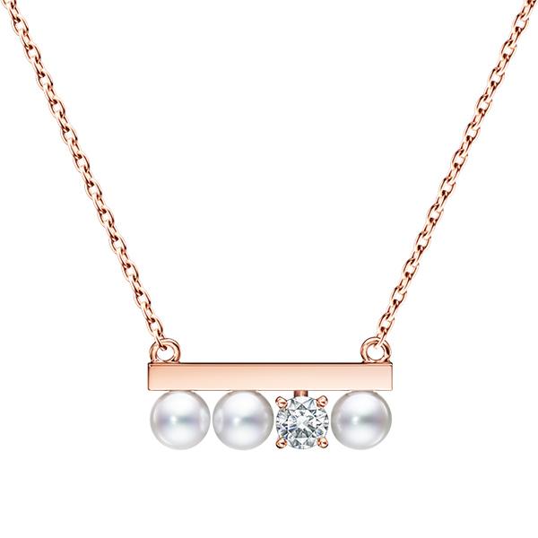 p 16743 5 18ksg petit balance diamonds solo necklace mozeypictures Images